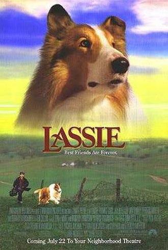 Lassie (1994 film) - Lassie 1994 release movie poster