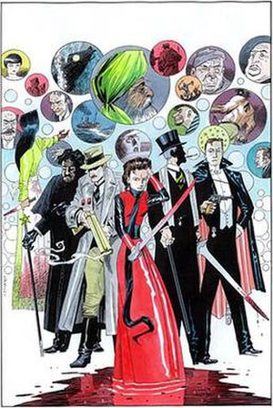 The League of Extraordinary Gentlemen, Volume III: Century - Image: League of Extraordinary Gentlemen Century Issue 1