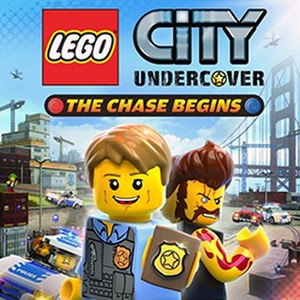 Lego City Undercover: The Chase Begins - Cover art for Lego City Undercover: The Chase Begins