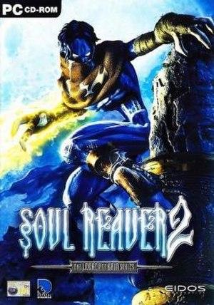 Soul Reaver 2 - Image: Lo K Soul Reaver 2 Cover PC