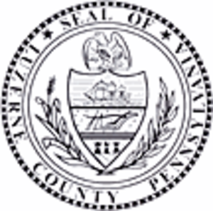 Luzerne County Manager - Image: Luzerne County, Pennsylvania seal