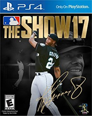 MLB The Show 17 - Image: MLB The Show 17 Cover