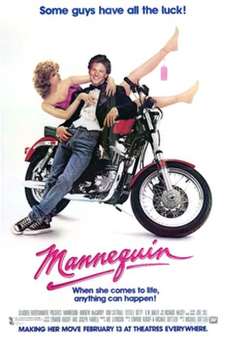 Mannequin (1987 film) - Theatrical release poster
