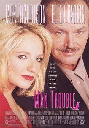 Man Trouble - Theatrical release poster