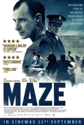 Maze (2017 film) - British release poster