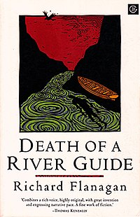 McPhee Gribble, 1994, Richard Flanagan, Death of a River Guide front cover.jpg