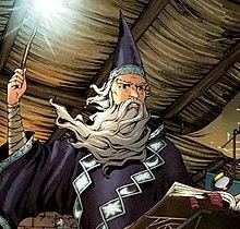 Merlin in comics - Wikipedia