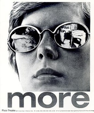 More (1969 film) - Theatrical release poster