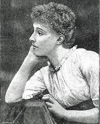 Helen Maud Holt - 1891 portrait