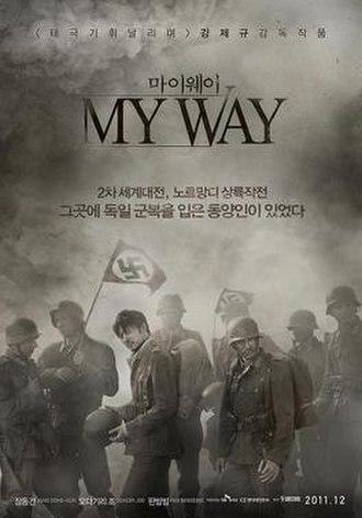 My Way (2011 film) - South Korean poster