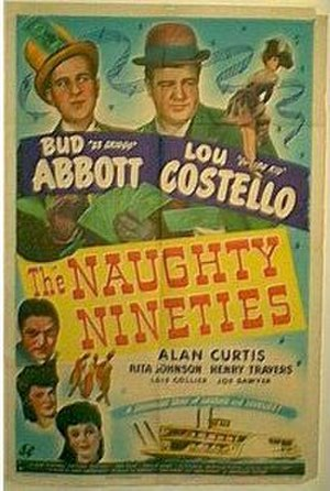 The Naughty Nineties - Theatrical poster