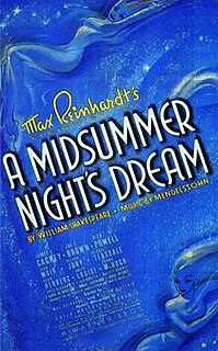 <i>A Midsummer Nights Dream</i> (1935 film) 1935 film by William Dieterle and Max Reinhardt