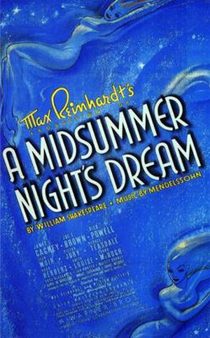 A Midsummer Night's Dream (1935 film) - Image: Nmidnight 1935