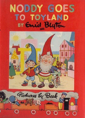 Noddy (character) - Cover of the first Noddy story Noddy Goes To Toyland, published in 1949
