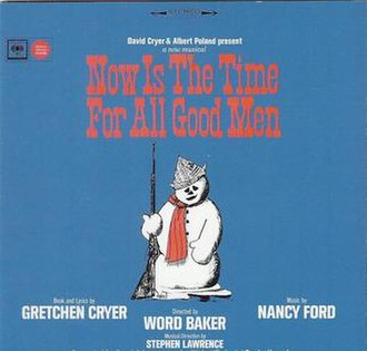 Now Is the Time for All Good Men - Image: Now Is The Time For All Good Men Album cover