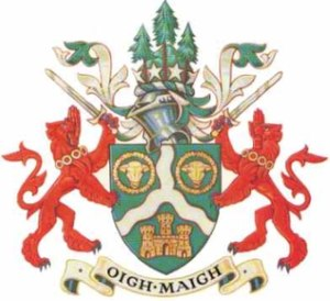 Omagh - Image: Odc crest of arms