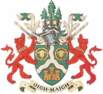Omagh District Council - Image: Odc crest of arms