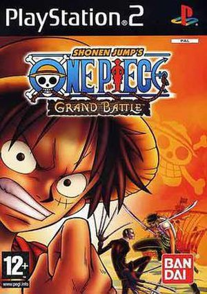 One Piece: Grand Battle! Rush - European PS2 cover art