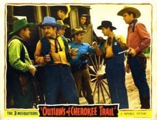 <i>Outlaws of Cherokee Trail</i> 1941 film by Lester Orlebeck