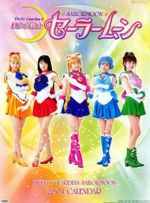 Pretty Guardian Sailor Moon (live-action series) - The five Sailor Guardians