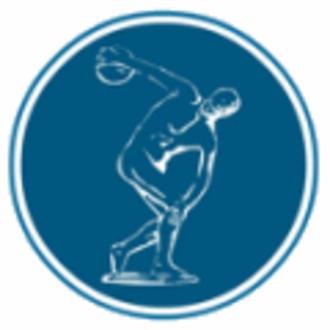 Panellinios G.S. - The club's famous Discobolus seal