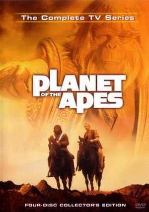 Planet of the Apes (TV series) - DVD cover art