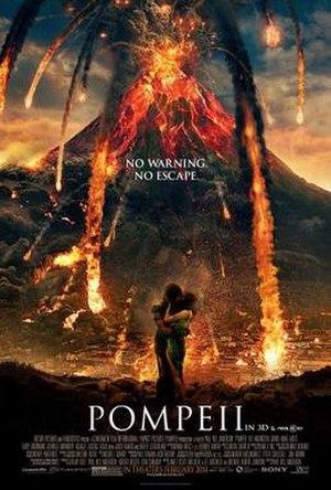 Pompeii (film) - Theatrical release poster