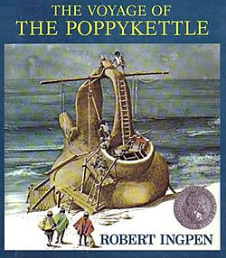 The cover of The Voyage of the Poppykettle.
