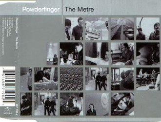 The Metre/Waiting for the Sun - Image: Powderfinger The Metre Cover