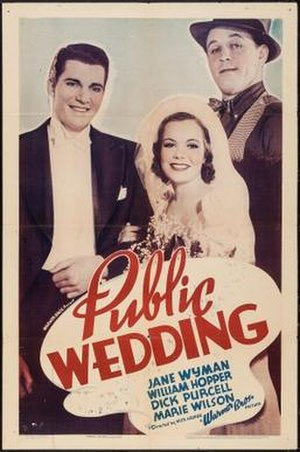 Public Wedding - Theatrical release poster