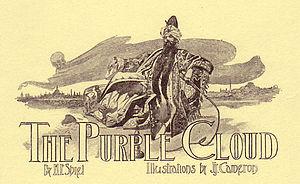 The Purple Cloud - Title illustration by J. J. Cameron