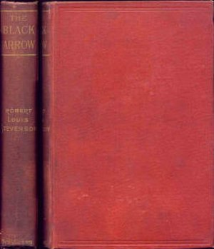 The Black Arrow: A Tale of the Two Roses - Cover of the first Scribner Brothers' American edition of 1888