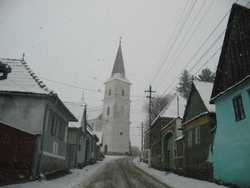 "The ""New Church"" in Răşinari"