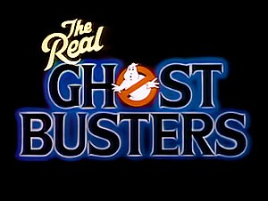 The Real Ghostbusters - Logo displayed at the opening title