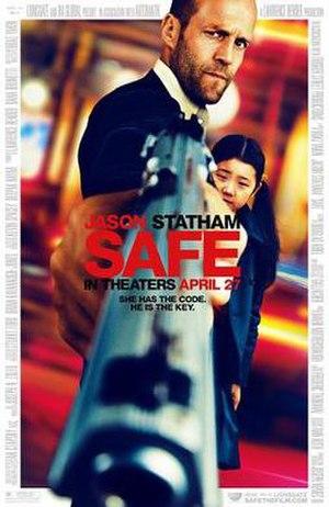 Safe (2012 film) - Teaser poster