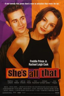 <i>Shes All That</i> 1999 film directed by Robert Iscove