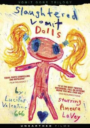 Slaughtered Vomit Dolls - Image: Slaughtered Vomit Dolls DVD Cover
