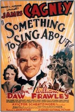 Something to Sing About (1937 film) - original theatrical poster
