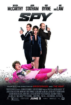Spy (2015 film) - Theatrical release poster