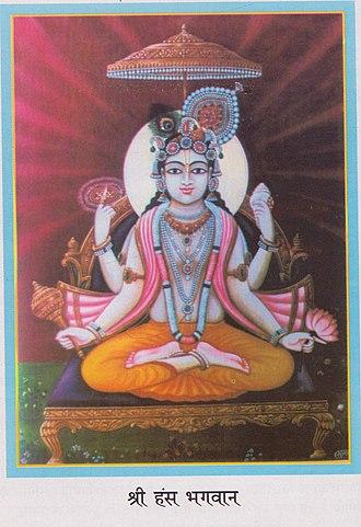 Nimbarka Sampradaya - Image: Srimad Hamsa Bhagavan