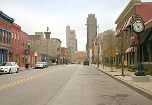 Warehouse District (Toledo, Ohio) - St. Clair facing East