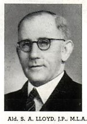 Municipality of Enfield (New South Wales) - Stanley Lloyd, Mayor (1929–1935).