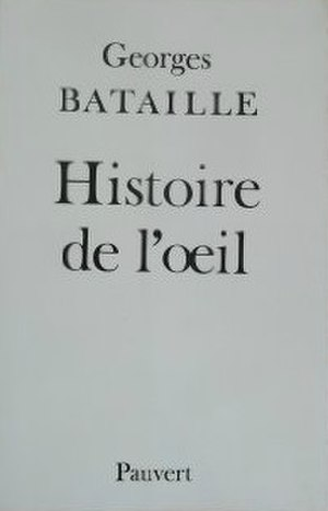 Story of the Eye - Cover of the French edition