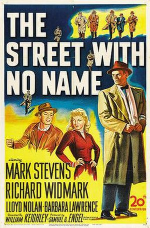The Street with No Name - Theatrical release poster