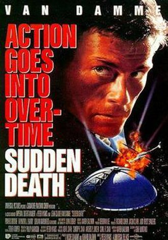 Sudden Death (1995 film) - Theatrical release poster