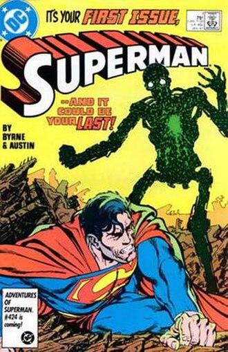 Superman vol. 2 - Image: Superman v 2 001