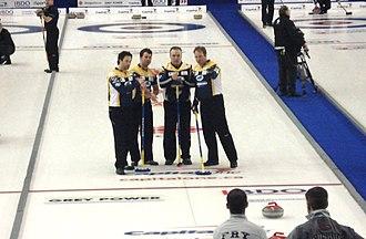 Randy Ferbey - Team Ferbey in 2010.