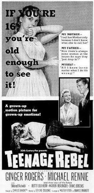 Teenage Rebel - Film poster