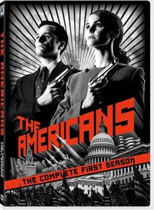 The Americans (season 1) - Image: The Americans season 1 DVD
