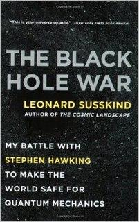 <i>The Black Hole War</i> book by Leonard Susskind
